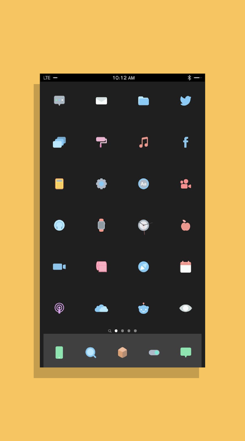 Kecil - Icon Pack for Android Screenshot 3