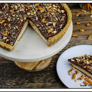 Vegan Snickers Cream Pie w/ Peanut Butter Ganache