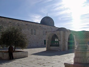 Photo: The El-Aqsa Mosque, originally built in the eighth century.