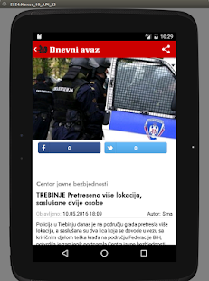 Dnevni avaz- screenshot thumbnail
