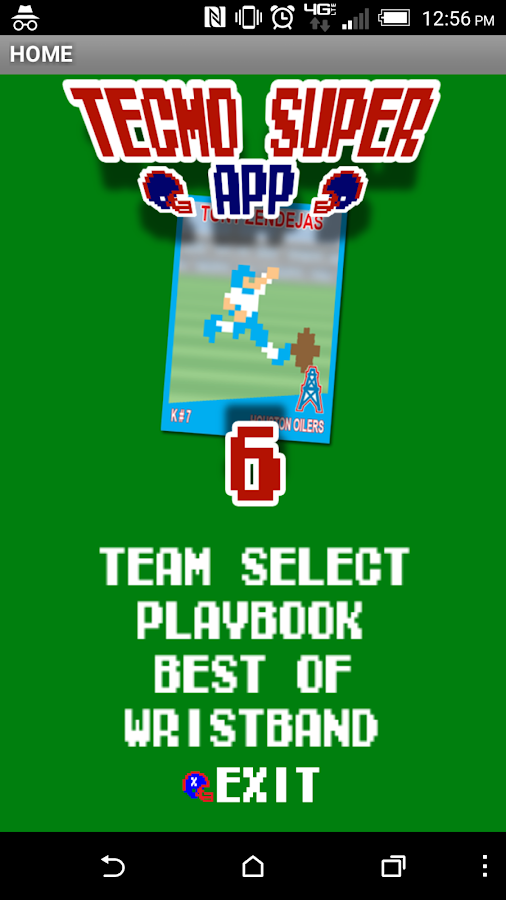 tecmosuper app- screenshot