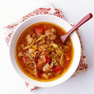 Japanese Cabbage Stew.