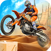 Download Offroad Dirt Bike Crazy Stunts Free