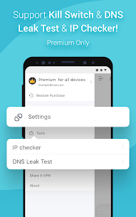 X-VPN – Free Private VPN Proxy 137 Android APK Mod 3