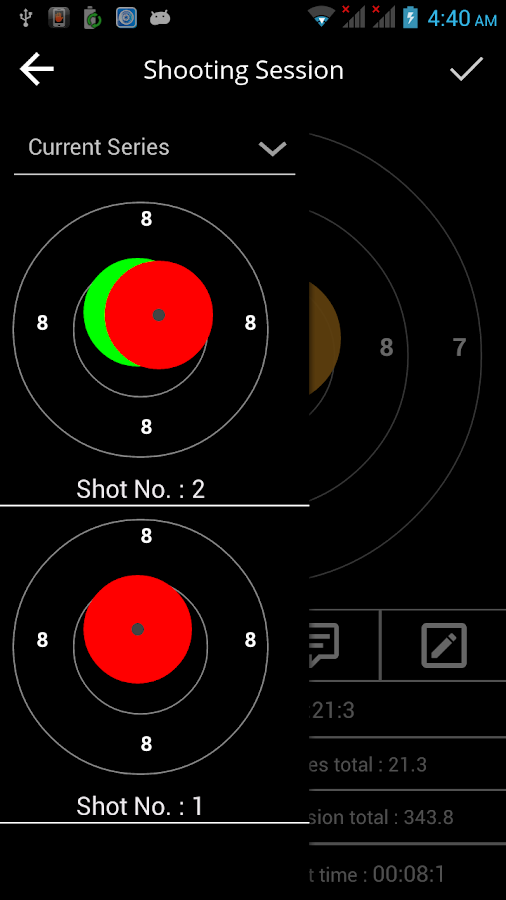 Shooting Analyzer- screenshot