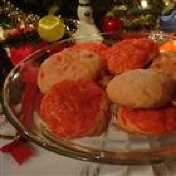 Cherry Icebox Cookies Recipe