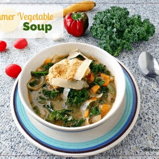 Summer Harvest Vegetable Soup.