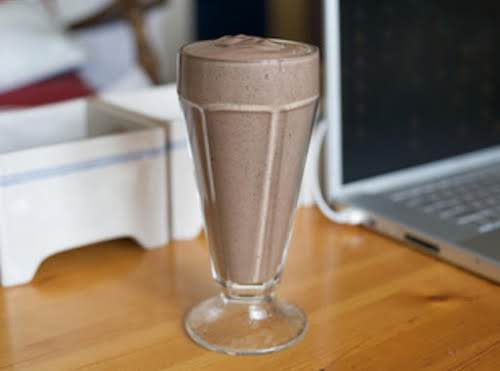 """Chocolate Peanut Butter Smoothies """"I've been experimenting with my new blender and..."""