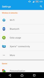 CM13 Xperia Z5 Blue Theme v2.0.1