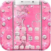 App Pink Rose Diamond Theme APK for Windows Phone