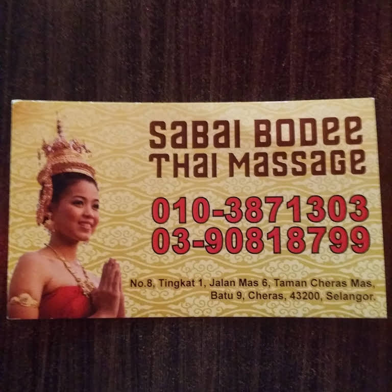 SABAI BODEE Thai Massage - Thai Massage -Body & Foot massage