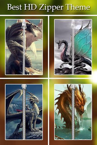 Dragon Zipper Lock