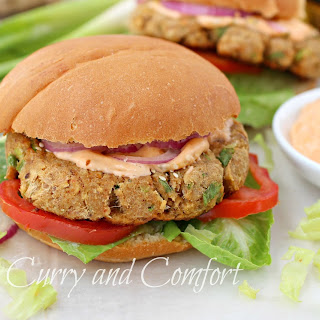 Asian Tuna Burgers with Spicy Tartar Sauce #TunaStrong #CG