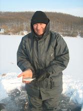 Photo: A mai egyetlen hal a 2 órás peca alatt... Hiába, a keszegeket meg kell találni, nem jönnek csak úgy az etetésre.