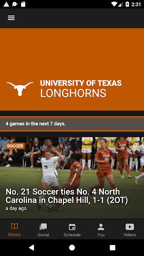 texas longhorns screenshot 1