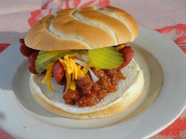 Hot Dog On The Round Recipe