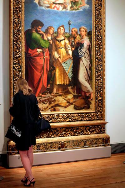 """Photo: """"Santa Cecilia"""" de Rafael  """"Santa Cecilia"""" by Raphael"""