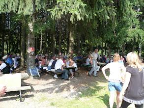 Photo: Ein richtiges Waldfest - wie daheim!