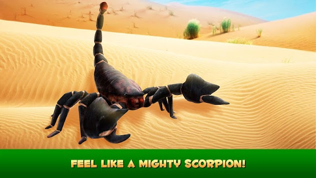 Poisonous Scorpion Simulator apk screenshot