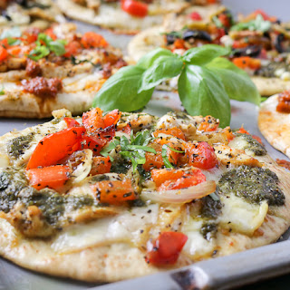 DIY Pita Pizza Party