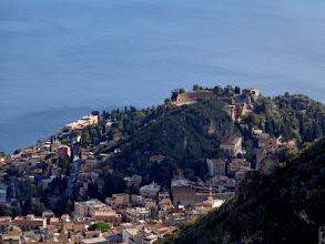 Photo: Taormina's Graeco-Roman theatre from Castelmole