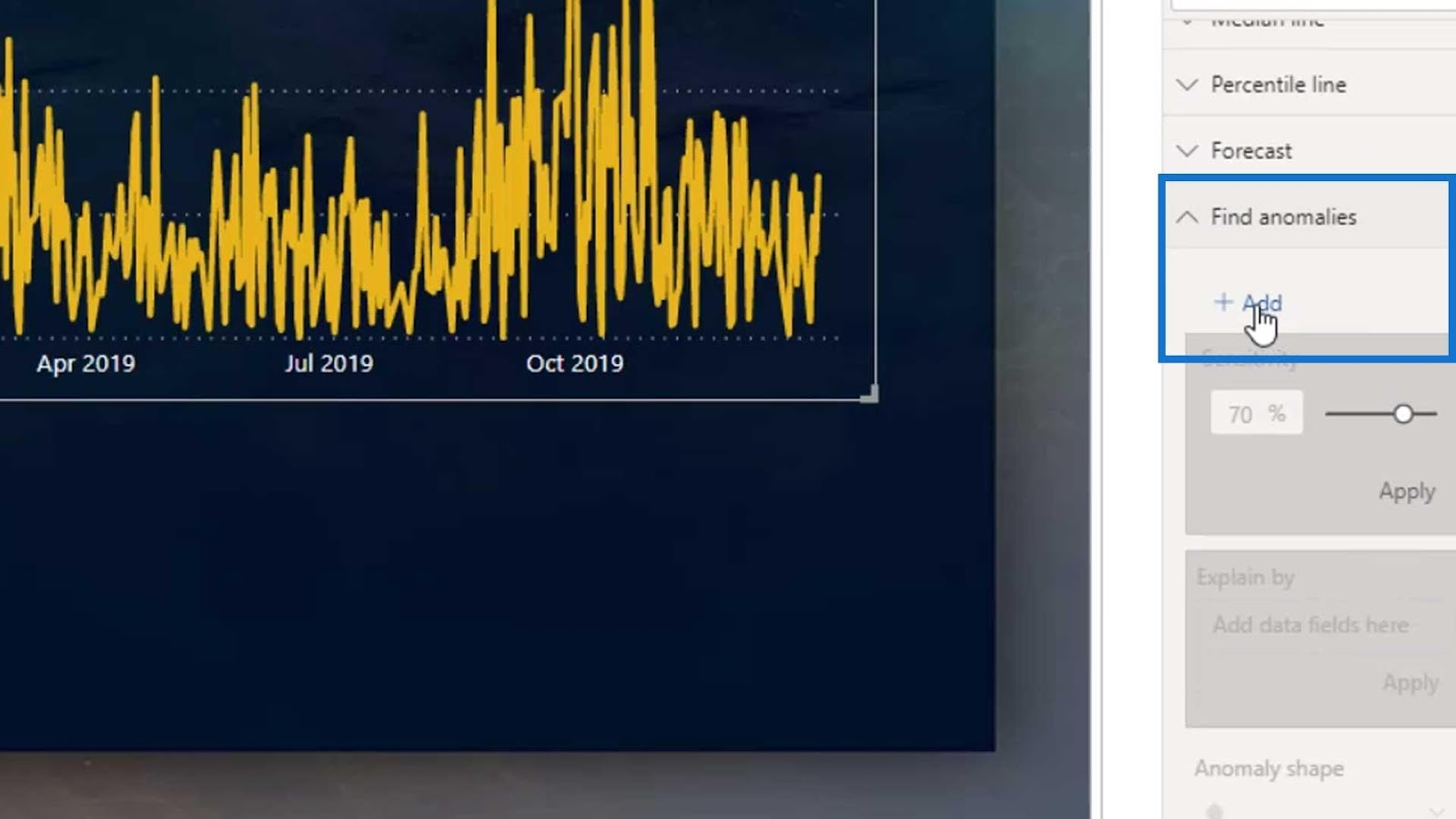 Anomaly Detection in Power BI