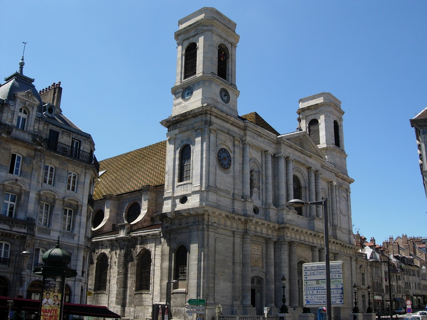 Eglise Sainte-Madeleine à Besançon