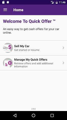 Cars.com Quick Offer - screenshot