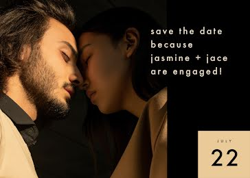 Jasmine and Jace - Save the Date Template