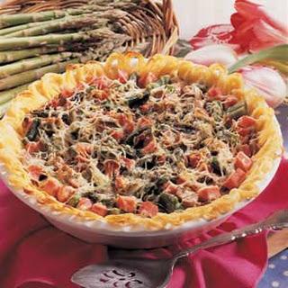 Asparagus Spaghetti Pie.