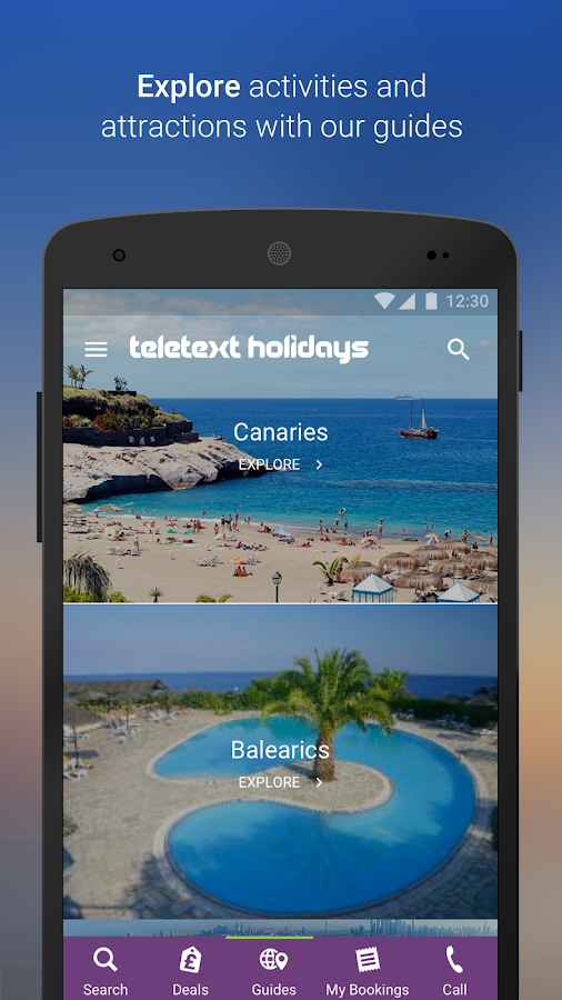 Teletext Holidays – The Flight & Hotel Booking App- screenshot
