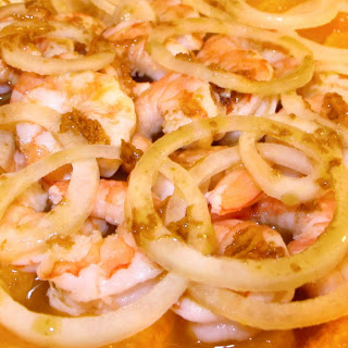 Shrimp and Orange Salad.