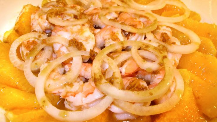 Shrimp and Orange Salad Recipe