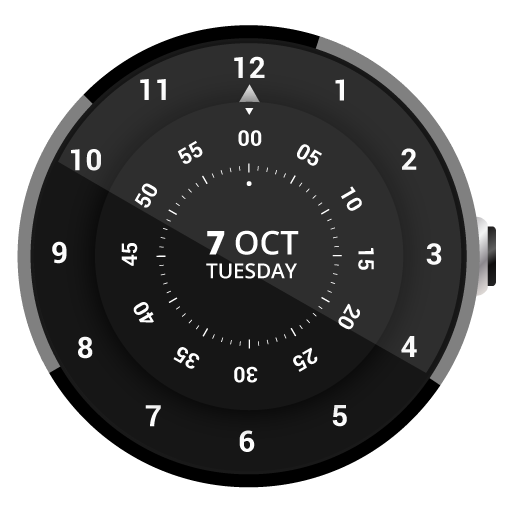 Roto 360 Watch Face app for Android