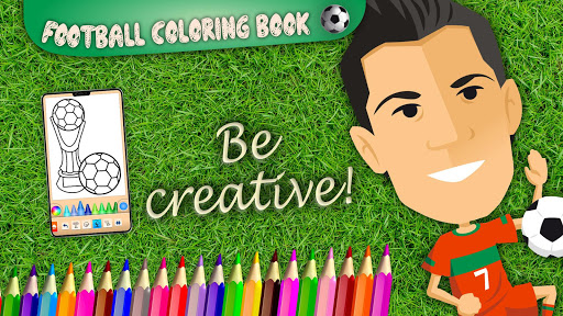 Football coloring book game apkpoly screenshots 7