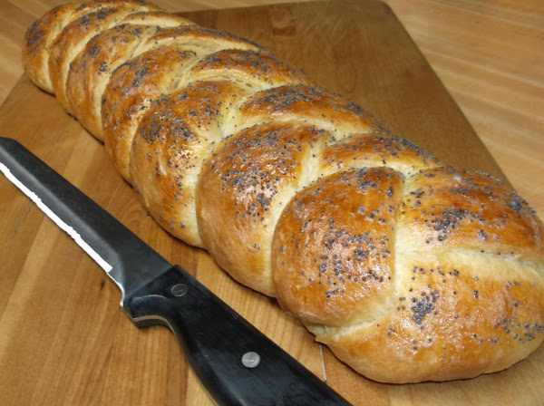Challah Bread (braided Egg Bread) Recipe