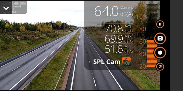 SPL CAM – decibel meter with video recorder App Latest Version  Download For Android 3