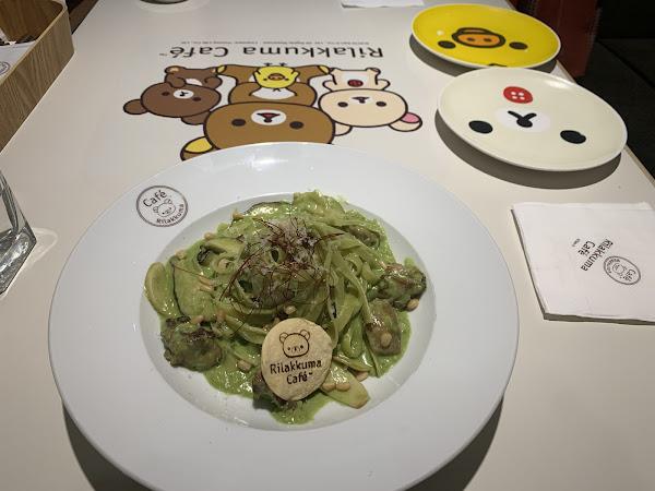 食物很不錯, 挺好吃的! Rilakkuma 鬆弛熊很可愛!這晚上很小人,只有四枱客人。