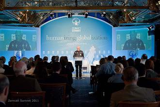 Photo: Keynote Address                    Francisco Van der Hoff, Max Havelaar talks on :  Fair Trade: Humanizing the Market Place, Towards a New Economic Paradigm
