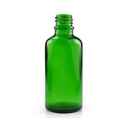 Glasflaska 50 ml - grön