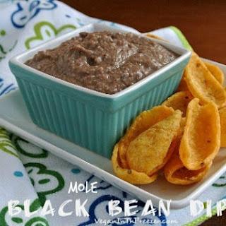 Mole Black Bean Dip Recipe