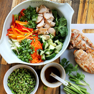 Chopped Thai Chicken Salad