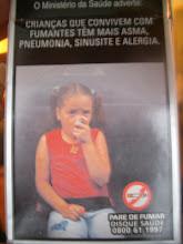 Photo: ブラジルのタバコ広告