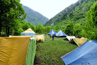 Photo: Camp 1 at Handi Forest