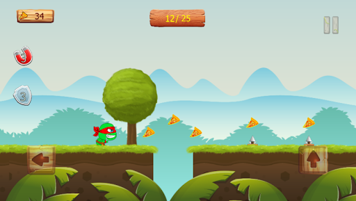 Ninja jump: Mutant kids adventure HD game apkmr screenshots 5
