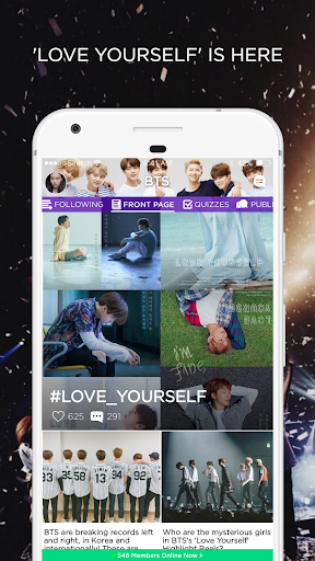 ARMY Amino for BTS Stans 1.9.22282 screenshots 1