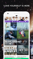 screenshot of ARMY Amino for BTS Stans