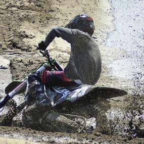 in the mud by Jean-Pierre Machet - Sports & Fitness Motorsports ( race, moto crosse, biker, sport )