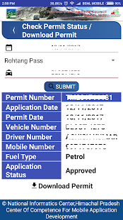 Rohtang Permit - náhled
