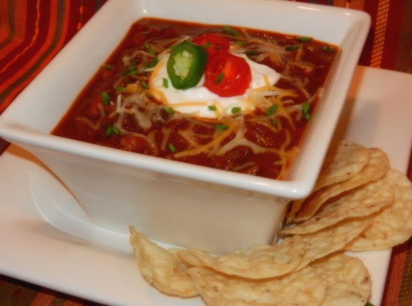 Slow Cooked Southern Style Chili With Beans Recipe